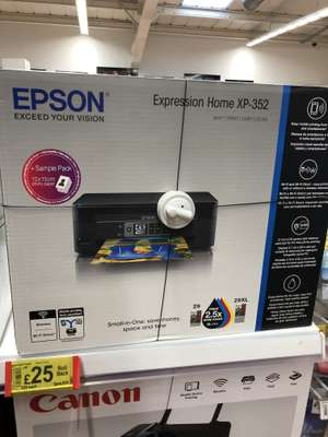 Epson Expression Home XP-352 £25 - Asda Crown Point