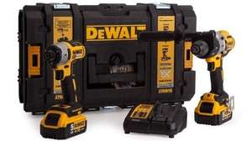 DeWALT DCK276P2 kit - Combi Drill and Impact Driver  2-18v-5Ah Li-ion Batteries Brushless at Ebay/Powertoolmate for £289.99