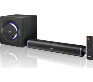 JVC TH-D258B 2.1 Wireless Compact Sound Bar at Currys for £99