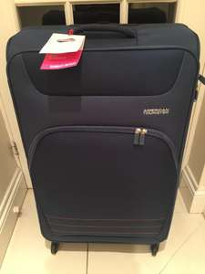 American Tourister Large Trolley Luggage Case - Tesco Twickenham instore for £35