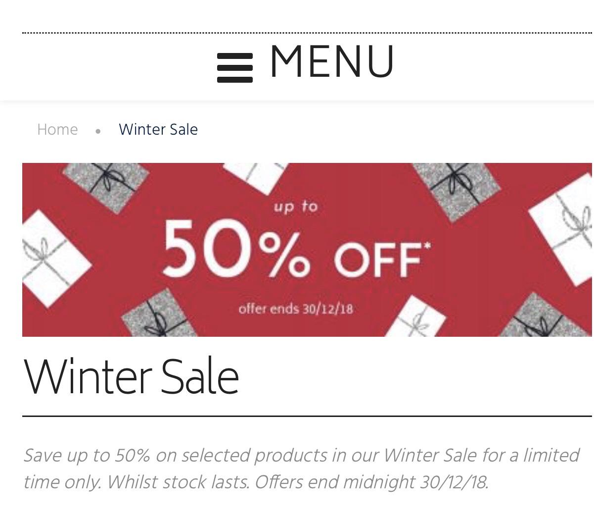 Filofax 50% off selected items
