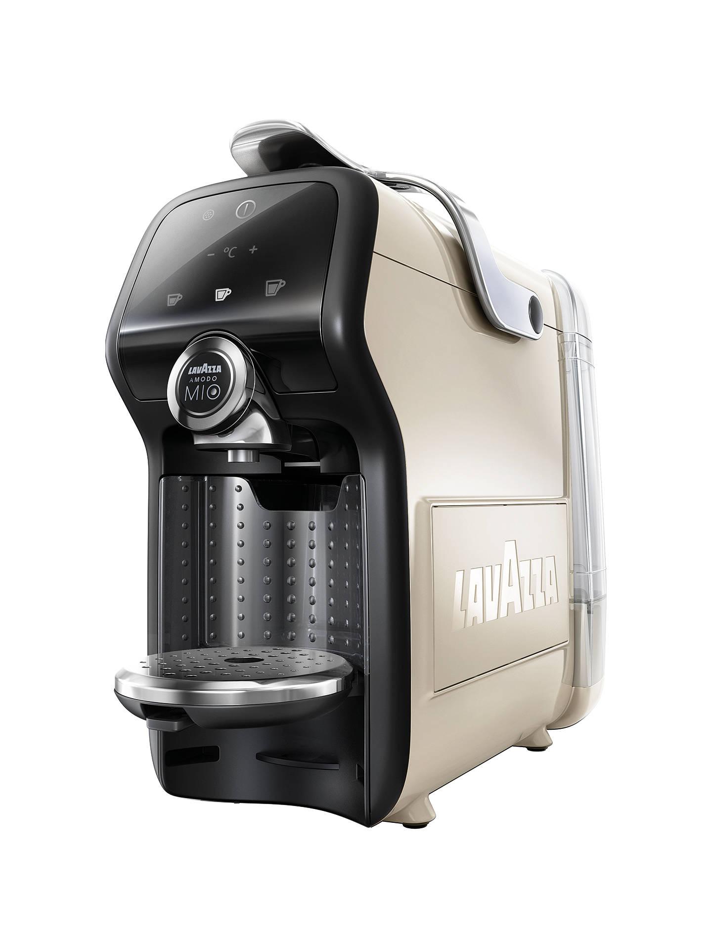 Lavazza A Modo Mio Magia Espresso Coffee Machine, Creamy White + 2 Year Guarantee - £50 Delivered @ John Lewis & Partners