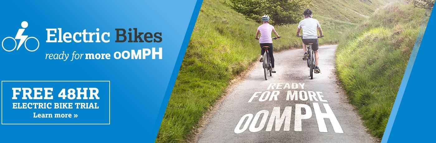 Halfords Free 48hr Electric Bike Trial