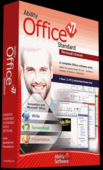 Ability Office V7 free at Sharewareonsale