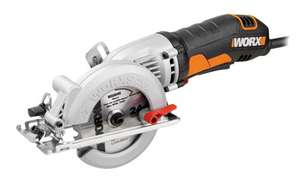 Wickes Worx Clearance - C&C only - Worx WX429 120mm Compact Circular Saw - 400W at Wickes for £50