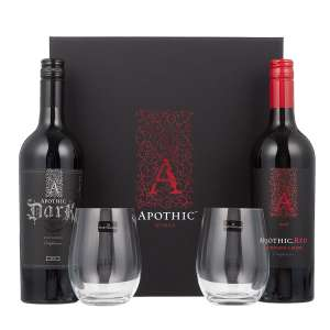Apothic Red wine gift set ONLY in-store reduced to £11.96 at Costco