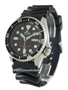 """Seiko SKX007K1 automatic divers watch £138 inc. postage using code """"NEWYEAR"""" @ Creation watches"""