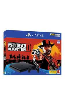 Sony PlayStation 4 Slim 500GB + Red Dead Redemption 2 OR FIFA 19 £205.06 at ShopTo eBay using code POWPOW10