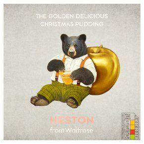 Waitrose & partners Heston Christmas pudding £3.50 instore