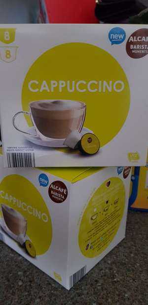 Dolce gusto compatible pods at Aldi instore for £1.49