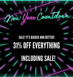 31% off everything inc sale at BOOHOO. (Plus £5 off a £25 spend and £1 next day delivery via code)