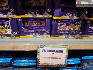 Deal of the century. 10 Caramel freddo for £1 @ Caburys Shop Cheshire oaks outlet.