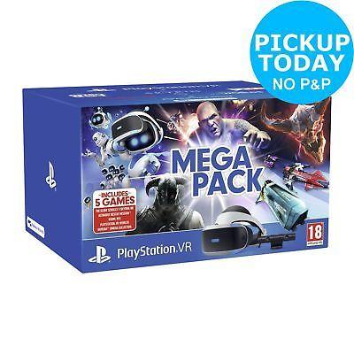 Sony Playstation VR Mega Pack Bundle £188.99 with code @ Argos ebay