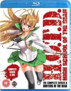 High School of the Dead: Drifters Of The Dead Edition (Complete Series & OVA) Blu-ray £9.99 @ HMV