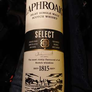 Laphroaig select  in store at morrisons - £20
