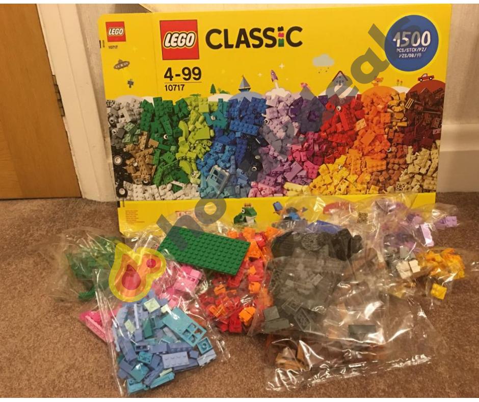 Lego Classic 1500 pieces 10717 £15 in Asda