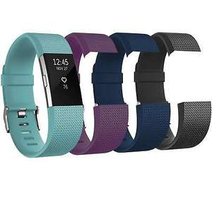 Fitbit Charge 2 Heart Rate Monitor & Fitness Tracker with Replacement Straps - £74.99 @ eBay / avantgardebrands