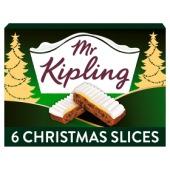 Mr Kipling, 6 Mince Pies 33p  6 Christmas slices  37p,  Ginger Slices 37p, Yule Log 56p @ Waitrose & Partners
