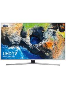 SAMSUNG UE49MU6400 4K LED TV with TVPlus tuner & Built-in Wi-Fi in silver - £399 @ RGB Direct