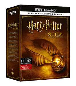 Harry Potter - Complete 8-film Collection (4K Ultra HD + Blu-ray + Digital) £46.99 @ Entertainment Store eBay