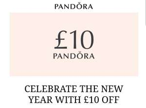£10 pounds off £79 spend online and instore at Pandora (instore need email)