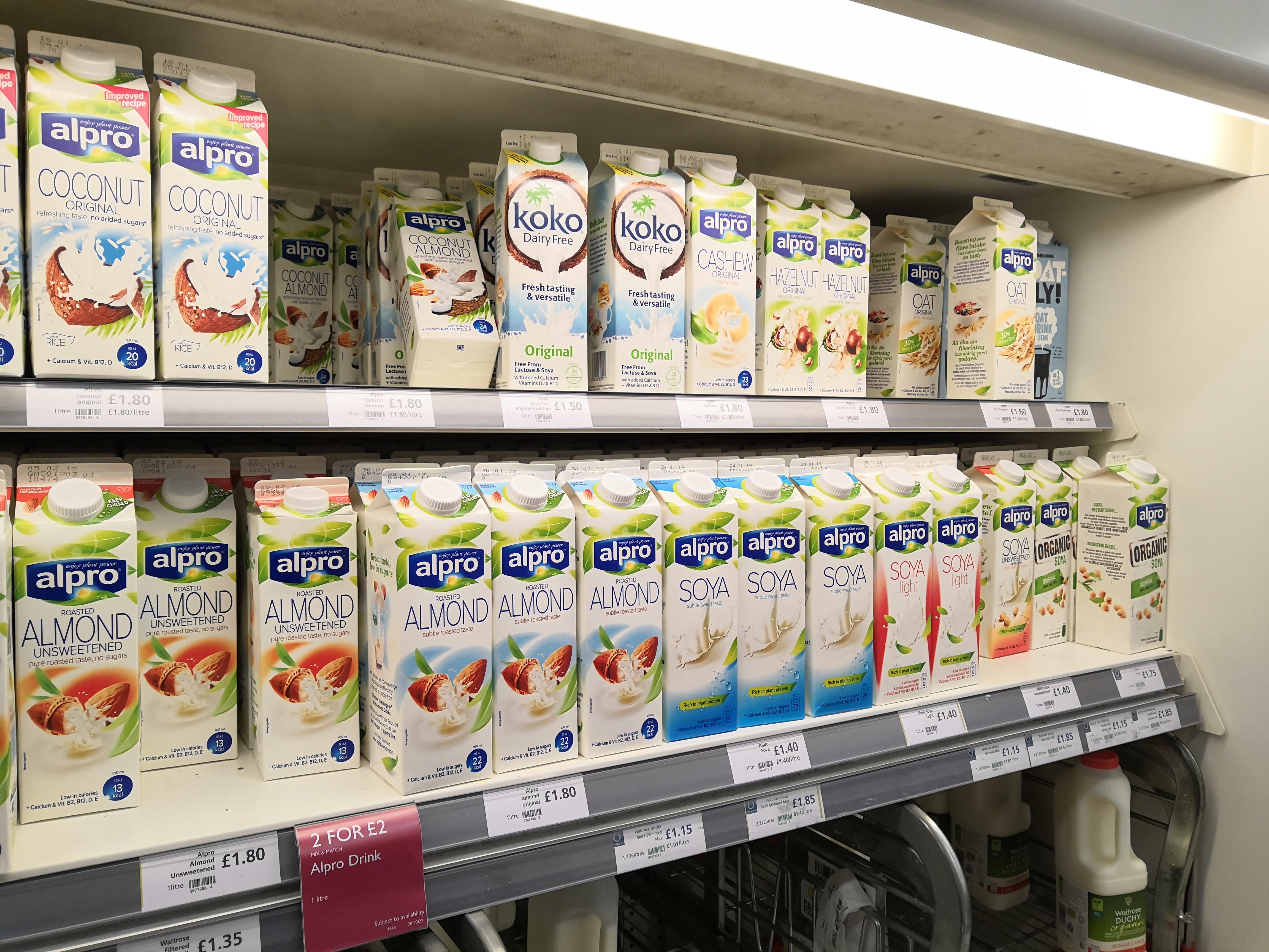 Alpro dairy-free milks (Almond, Cashew, Hazelnut, Coconut, Soya, Oat, etc) - 2 for £2 (£1.80 each) @ Waitrose & Partners