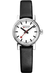 MONDAINE MSE-26110-LB evo2 Petite leather and stainless steel watch was £189 - £95 @ Selfridges