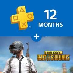 PLAYERUNKNOWN'S BATTLEGROUNDS / PUBG for PS4 + 12 months PlayStation Plus - £58.49 on PS Store (3rd-13th January)