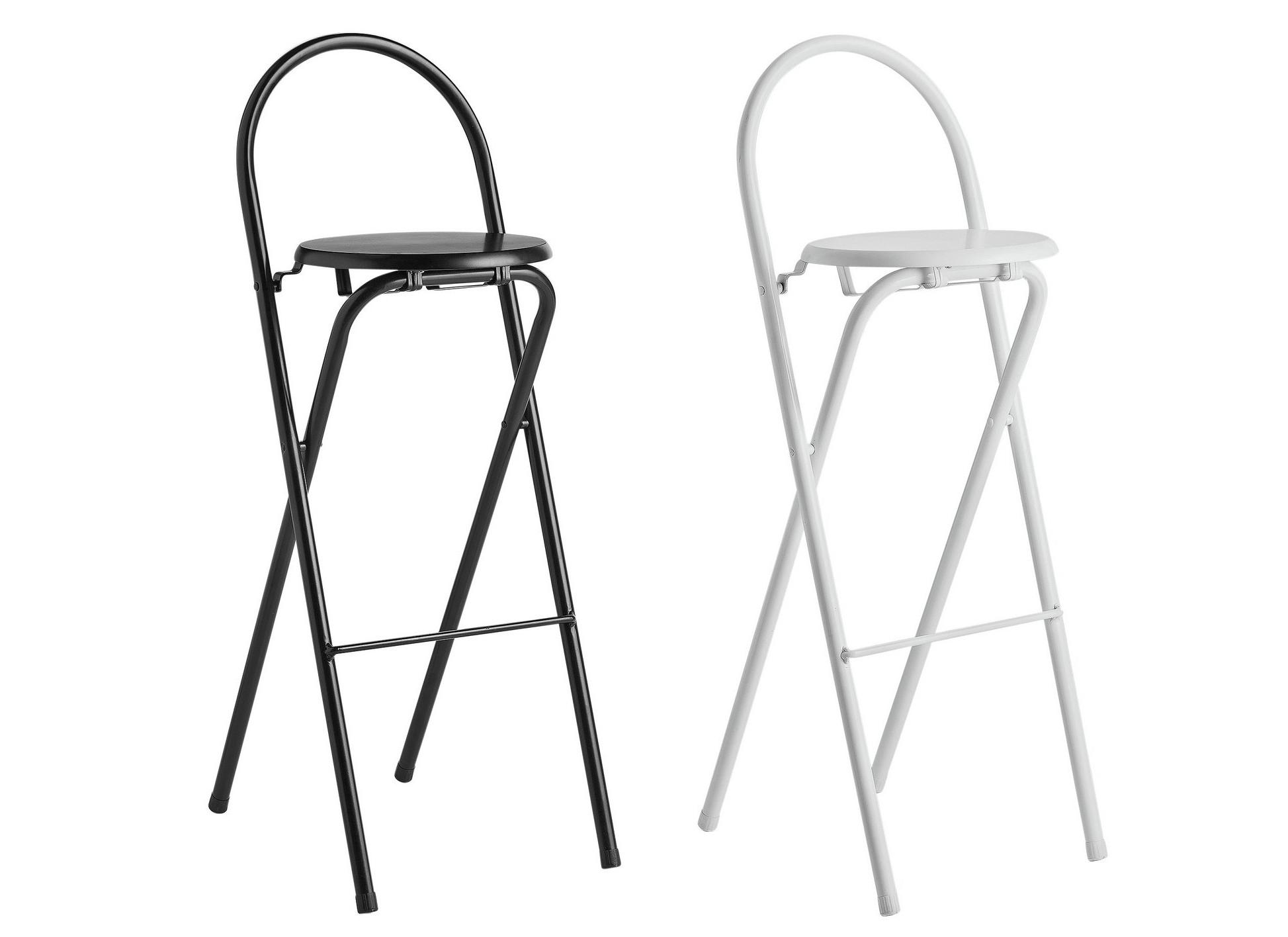 Habitat Macadam Metal Folding Bar Stools Black Or White For 163 10 49 Argos Hotukdeals