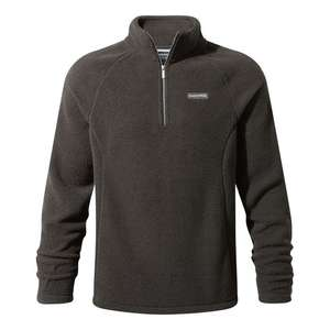 CRAGHOPPERS BARSTON HALF-ZIP FLEECE reduced from £60 down to £15 + £3.95 delivery at craghoppers