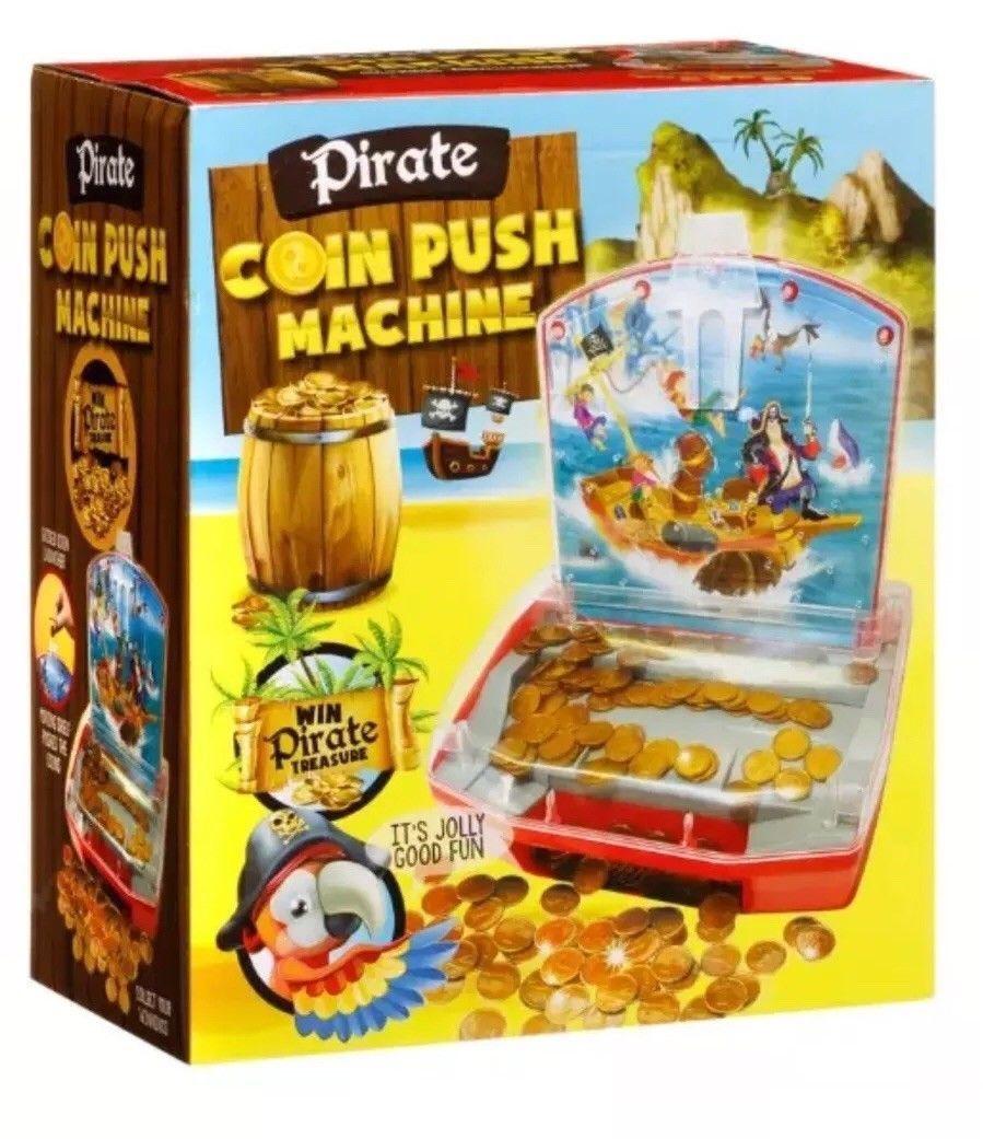 Pirate Penny/Coin Pusher Machine. £7 @ B&M