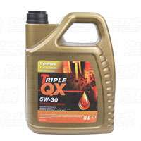 TRIPLE QX 5W-30 Fully Synthetic Engine Oil 5Ltrs £16.74 @ Euro car parts