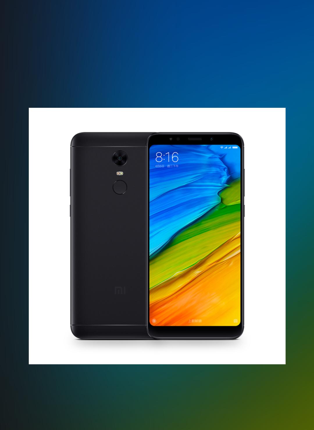 Xiaomi Redmi 5 plus 4gb/ 64gb Dual Sim Sim Free/Unlocked - Black £144.52 @ Eglobal