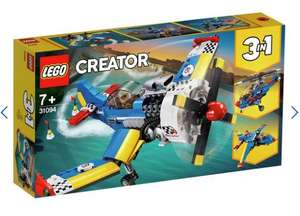Just only £24.99 LEGO Creator Race Plane Toy Helicopter and Jet - 31094 @ Argos (Free C&C)