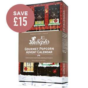 Joe&Seph's Gourmet Popcorn Advent Calendar reduced by £15 to £10 (add something extra for minimum £12 order) at Joe & Sephs