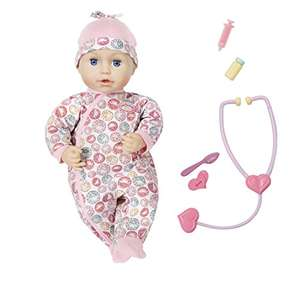 Baby Annabell Milly Feels Better Nurturing Doll £17.50 prime / £21.99 non prime @ Amazon