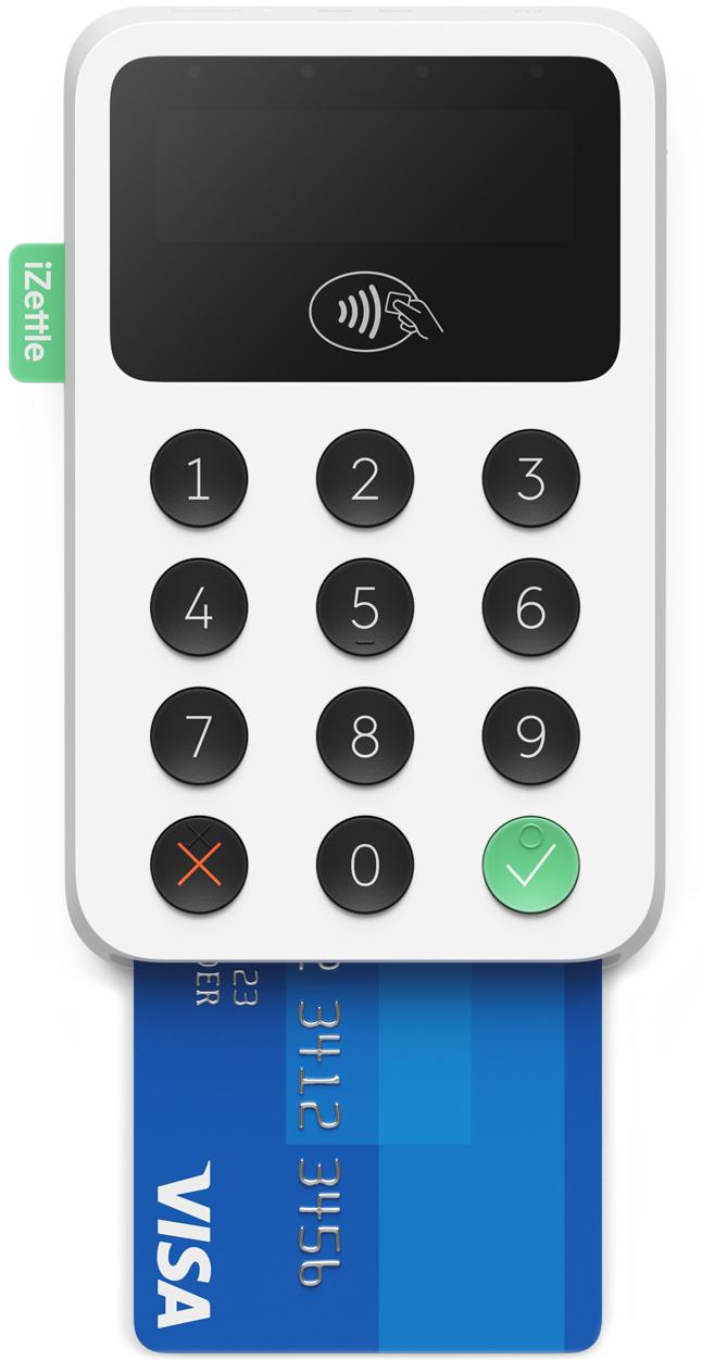 iZettle 2 Card Reader - £19 plus VAT (£22.80) @ iZettle
