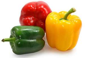 Lidl Oaklands Mixed Peppers 3 Pack 500g 69p @ Lidl In-store