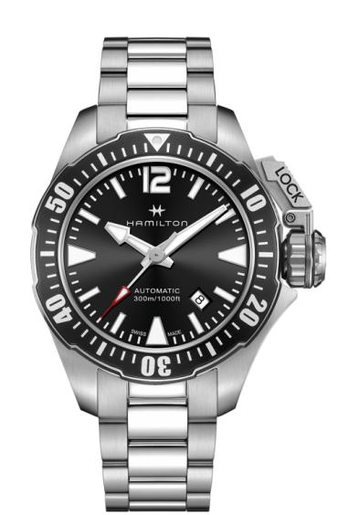 Hamilton Khaki Navy Frogman Automatic Watch H77605135 - £550 (£320 saving) @ Ernest Jones Online