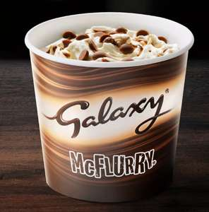 Galaxy and Galaxy Caramel McFlurry's and Pokemon Happy Meals now available at Mcdonald's
