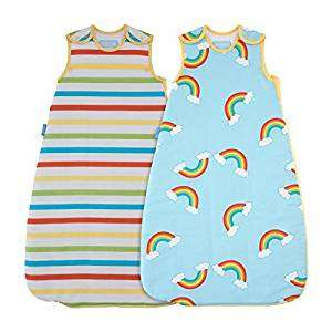 Grobag 6-18 months, 2.5 tog, twin pack, £26 (£13 each) @ Amazon