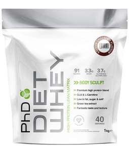 PHD Diet Whey £5.87 in store at ASDA
