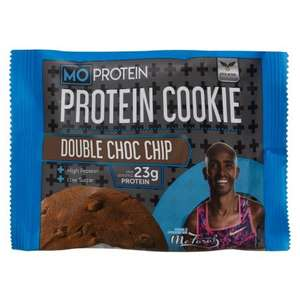 MO Protein cookies and ready made protein drinks were £1 now 79p each in B&M stores