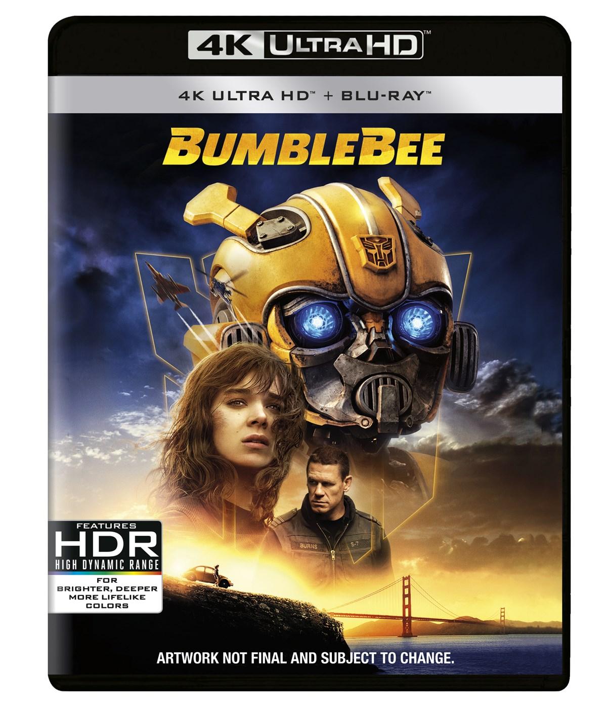 Bumblebee (4K Ultra HD + Blu-ray) [UHD] - £18 @ Zoom using code