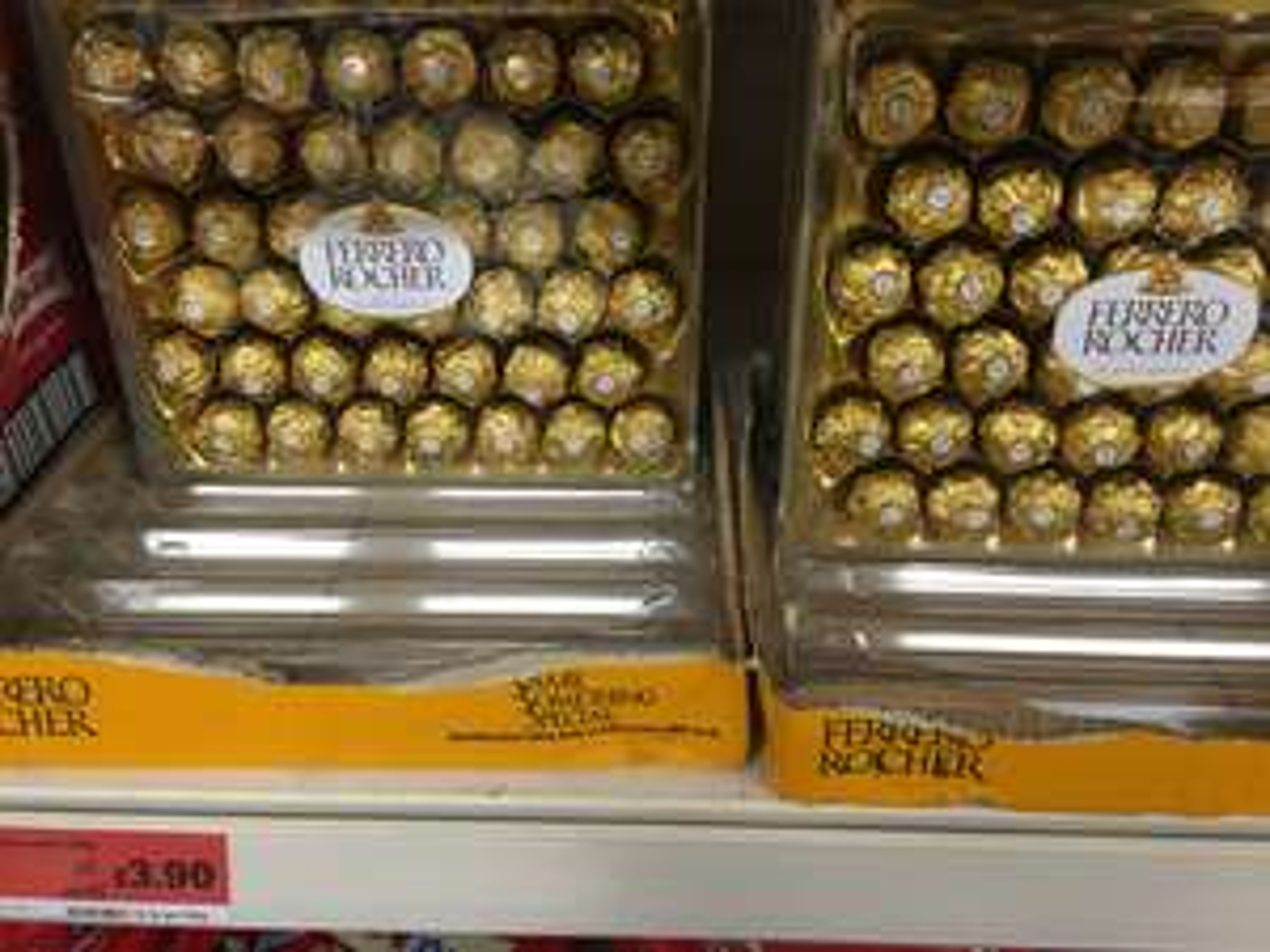 Ferrero Rocher 42 piece Sainsbury's - £3.90