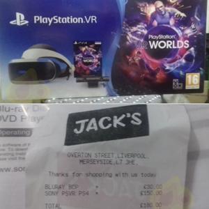 Ps4 vr vr world's + playstation camera - £150 instore @ Jack's (Wavertree)