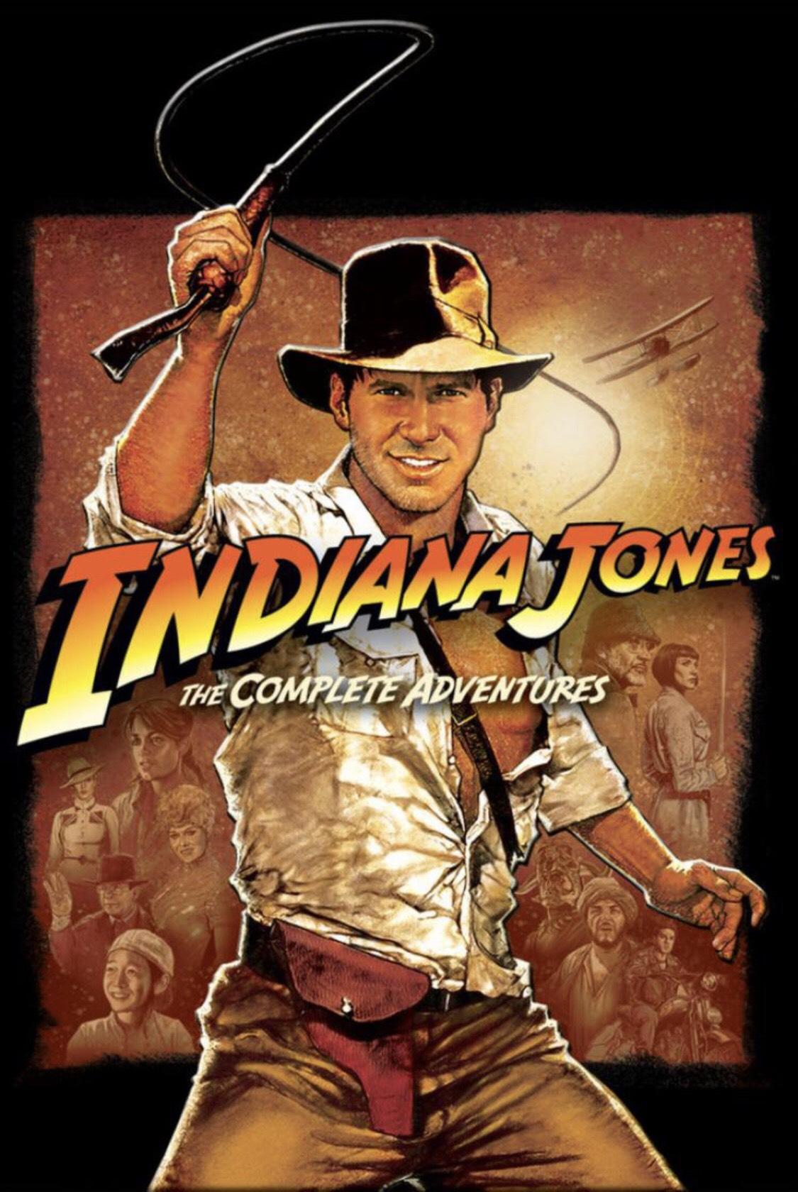 Indiana Jones - The Complete Adventures (4 film bundle) £19.96 on iTunes