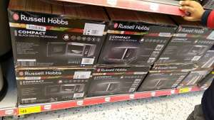 Morrison in store Russell Hobbs Compact digital Microwave oven 20l £45
