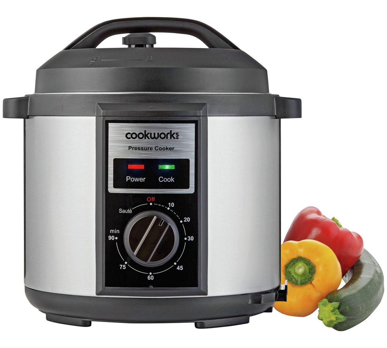 Cookworks Pressure cooker at Argos for £19.99 -Back in stock