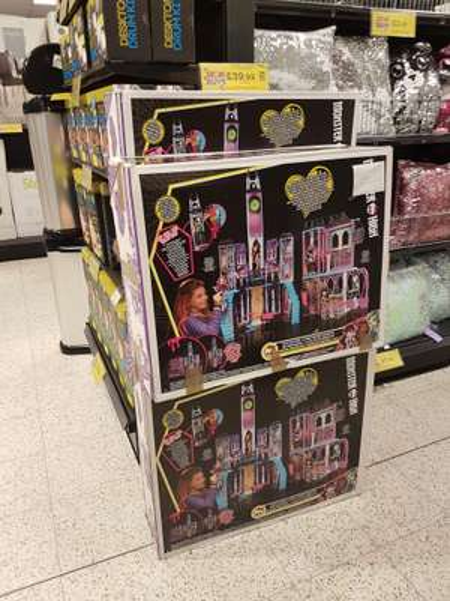 Monster High Deadluxe School Home bargains - £39.99 instore